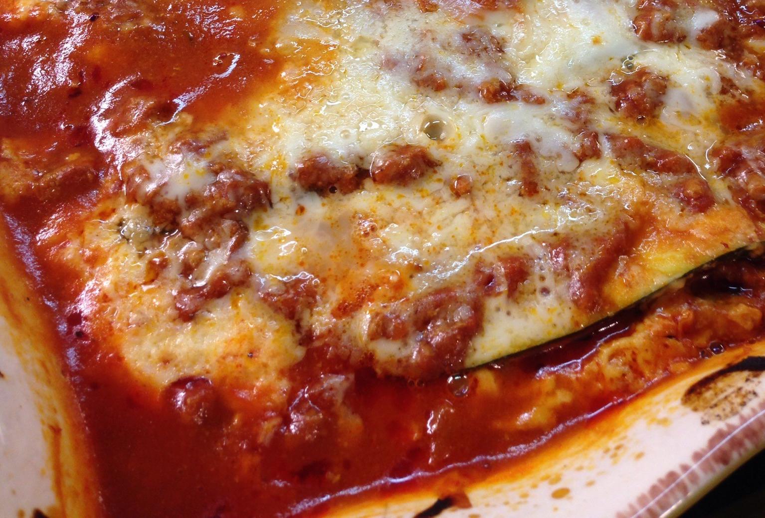 Zucchini Cheesy Lasagna Casserole