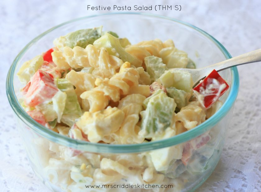 Festive Pasta Salad (S)