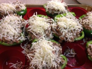 Bell Peppers Cheese