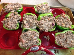 Bell peppers Meat