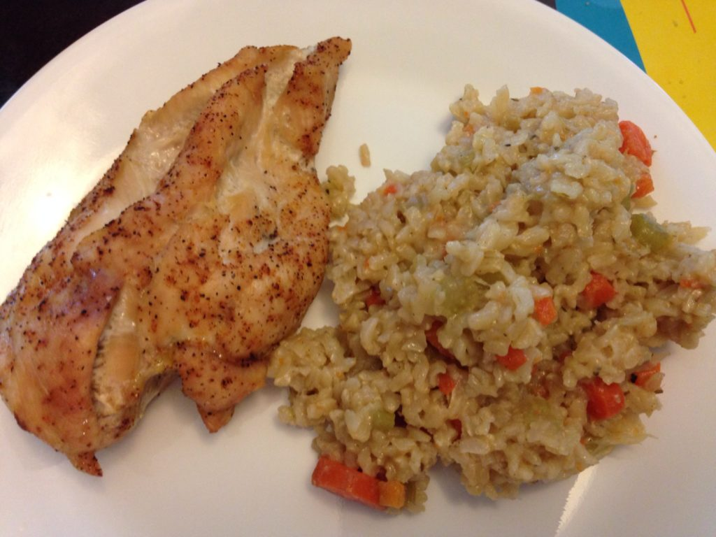 how to make pilaf brown rice