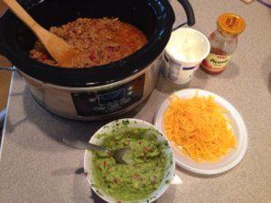 Taco Set up