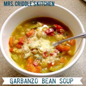 Garbanzo Bean Soup Bowl