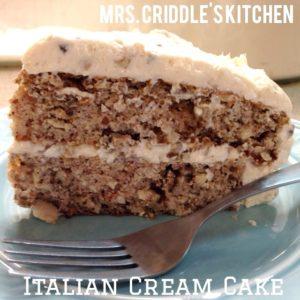 Italian Cream Cake1