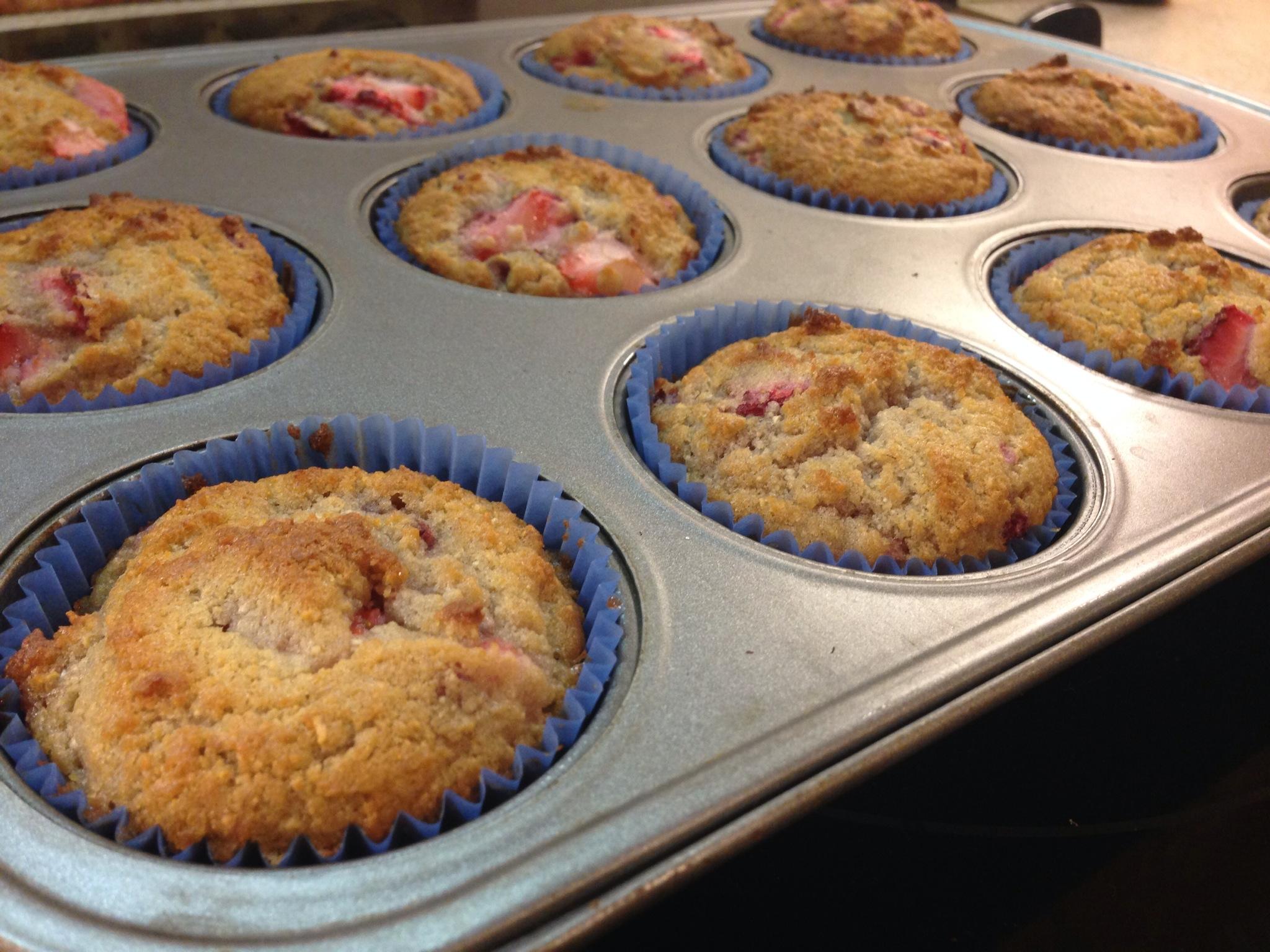 Stawberry Breakfast Muffins