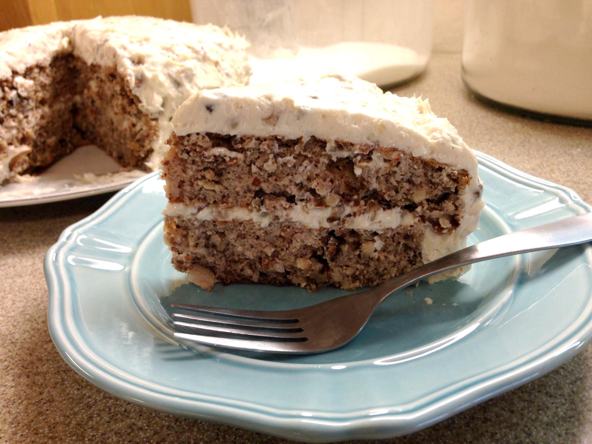 Italian Cream Cake Mrs Criddles Kitchen