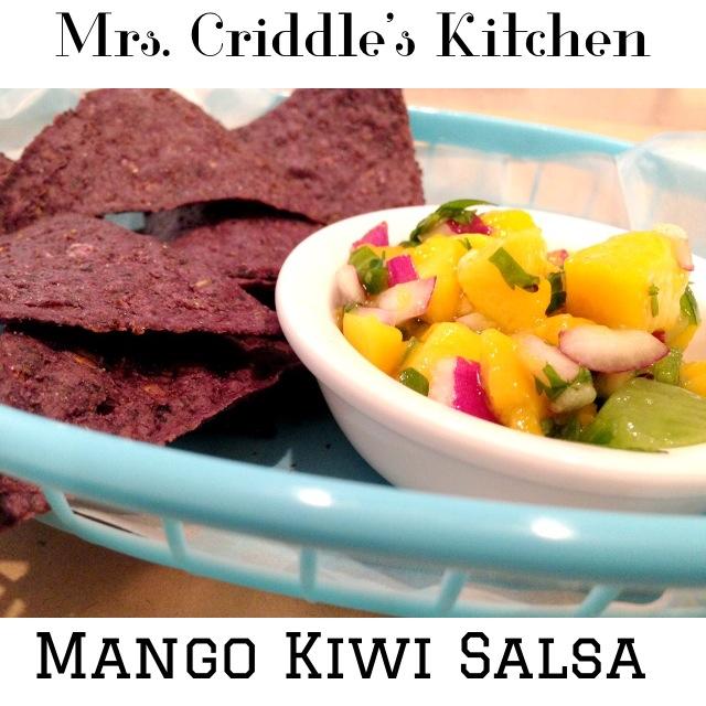 Mango Kiwi Salsa