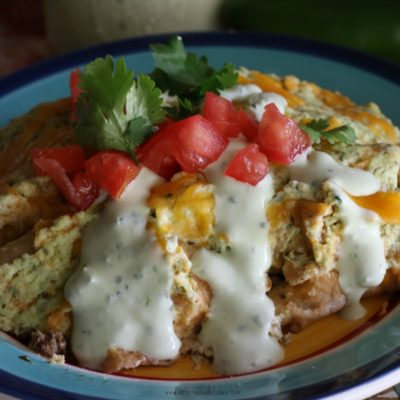Sour Cream Beef Enchiladas