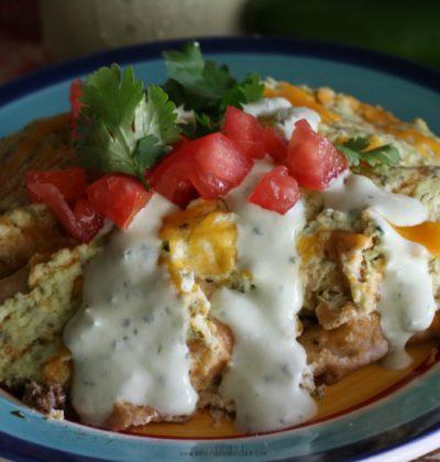 Sour Cream Beef Enchiladas