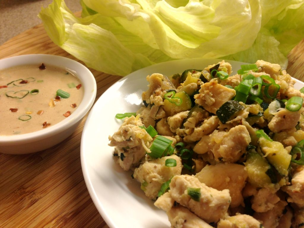 Chicken Lettuce Wraps1