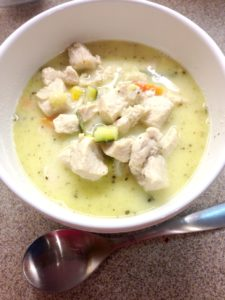 Creamy Chicken Soup1