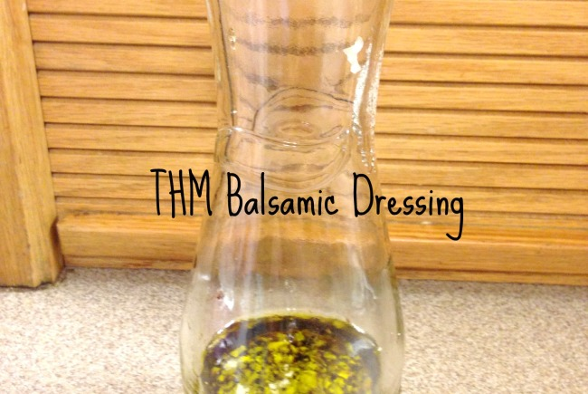 THM Balsamic Dressing