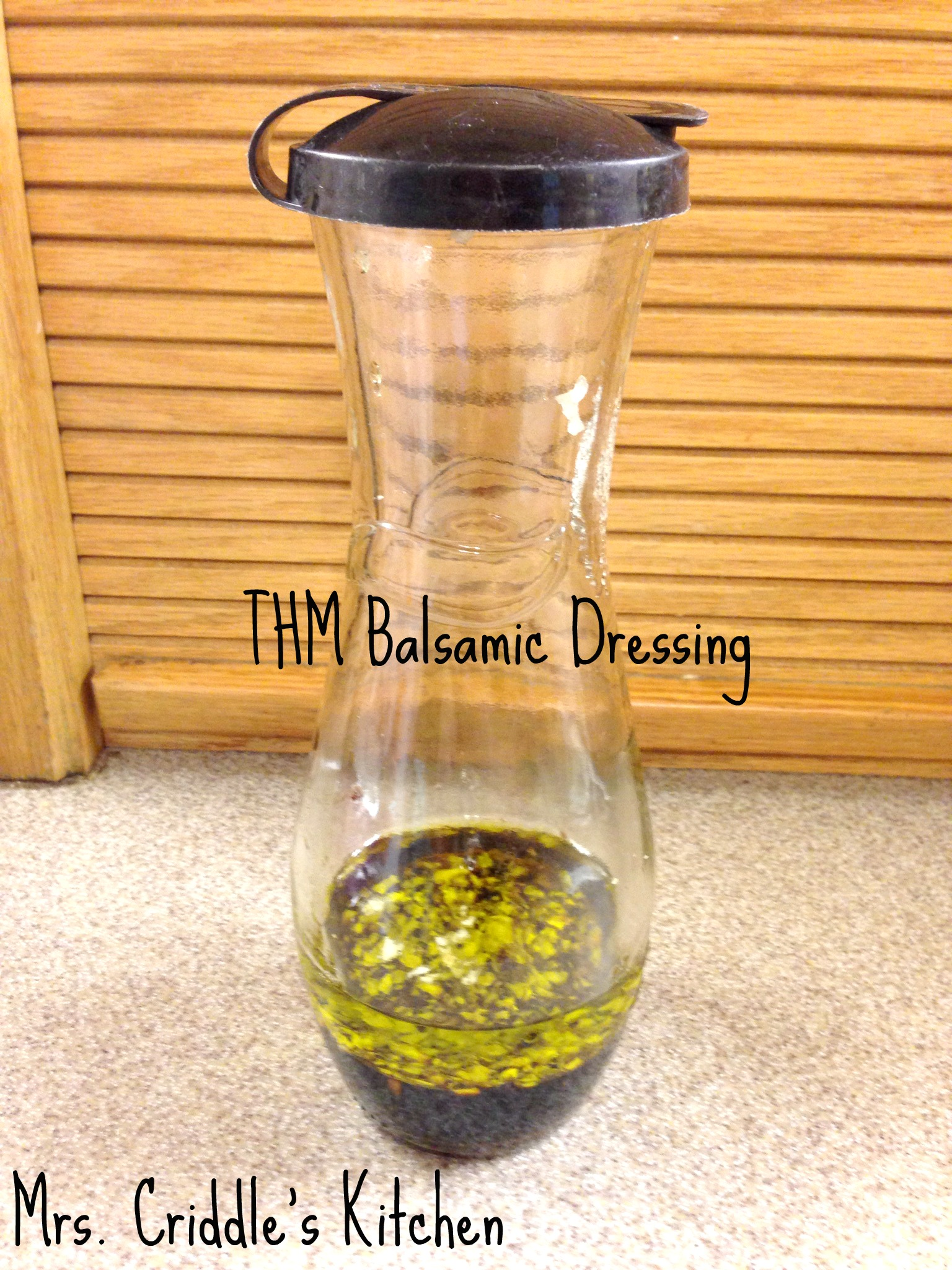 THM Balsamic Dressing