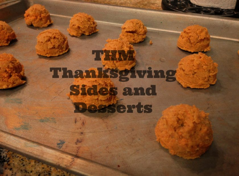 THM Thanksgiving Sides & Dessert