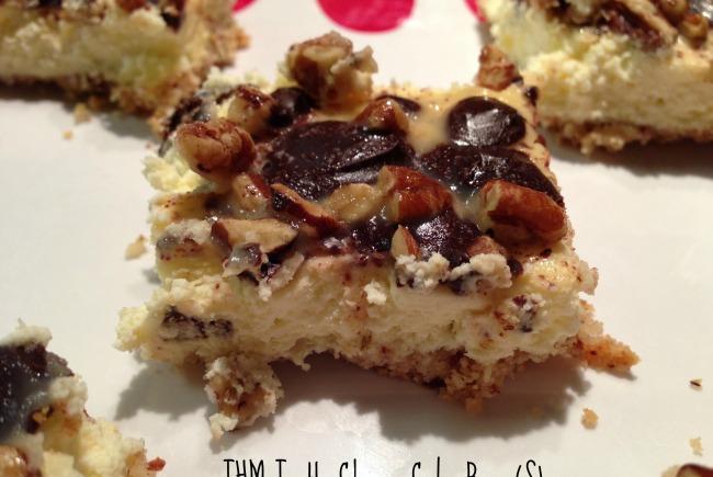 THM Turtle Cheesecake Bars (S)