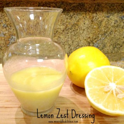 Lemon Zest Dressing