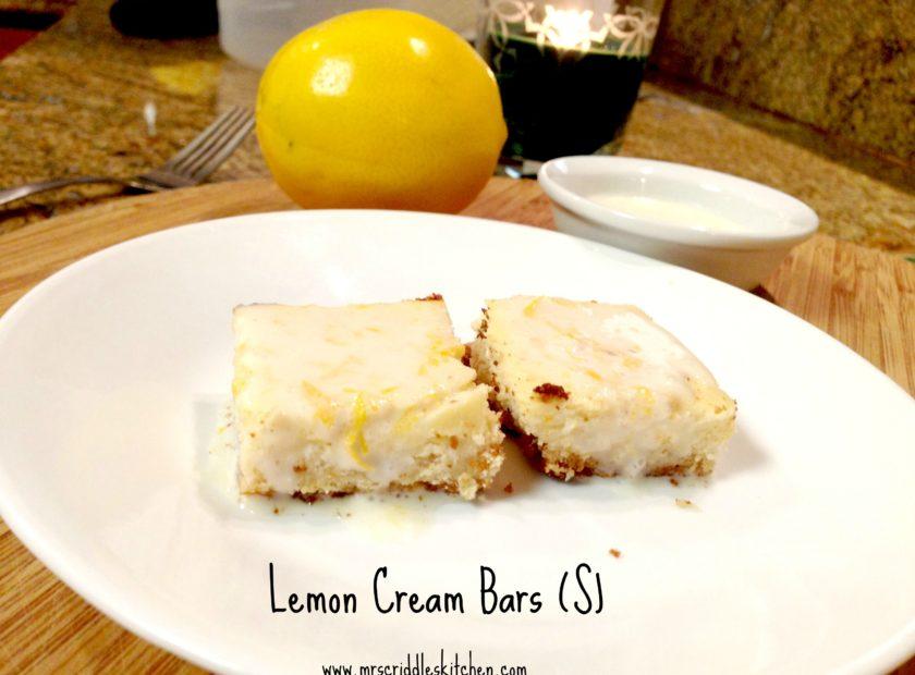 Lemon Cream Bars (S)