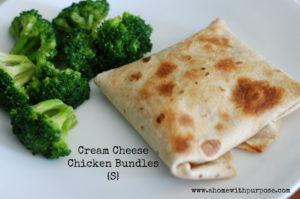Cream cheese Chicken Bundles