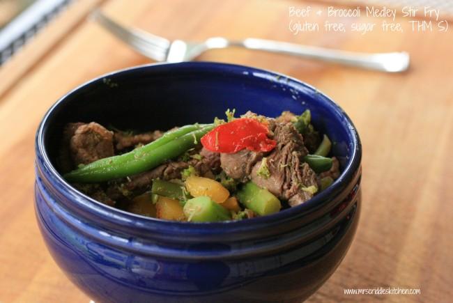 Beef & Broccoli Medley Stir Fry