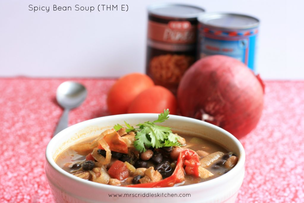 Spicy Bean Soup (THM E)