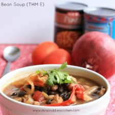 Spicy Bean Soup (THM E)