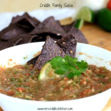 Criddle Family Salsa