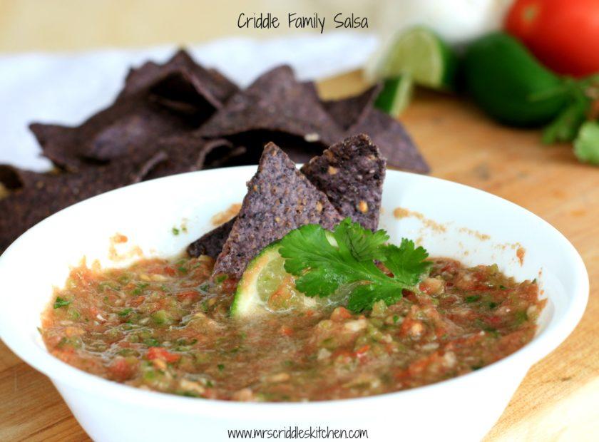 Criddle Family Salsa