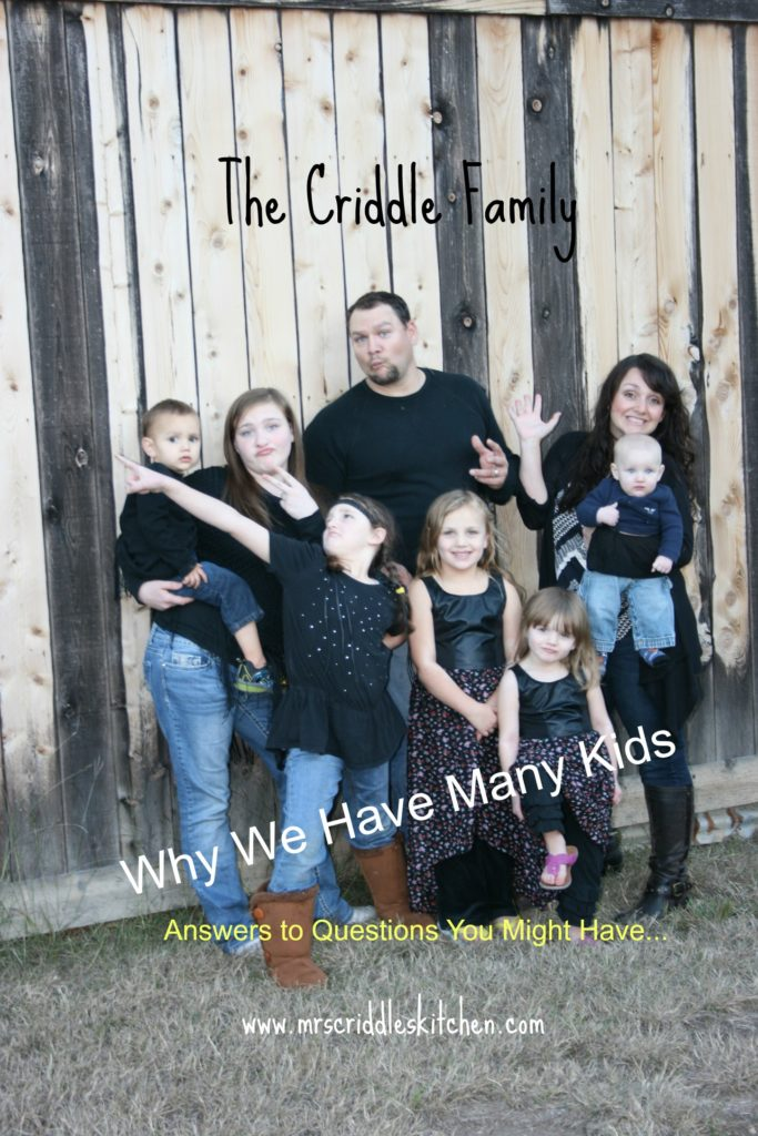 The Criddle Family