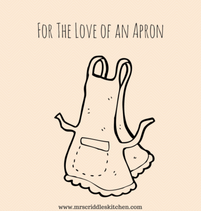 For the Love of an Apron & Giveaway!