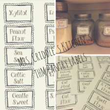 THM Pantry Labels (FREE PRINTABLES)