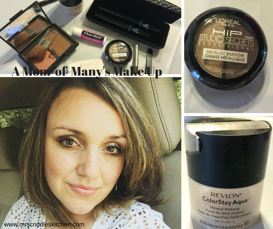 A Mom-Of-Many's Make Up