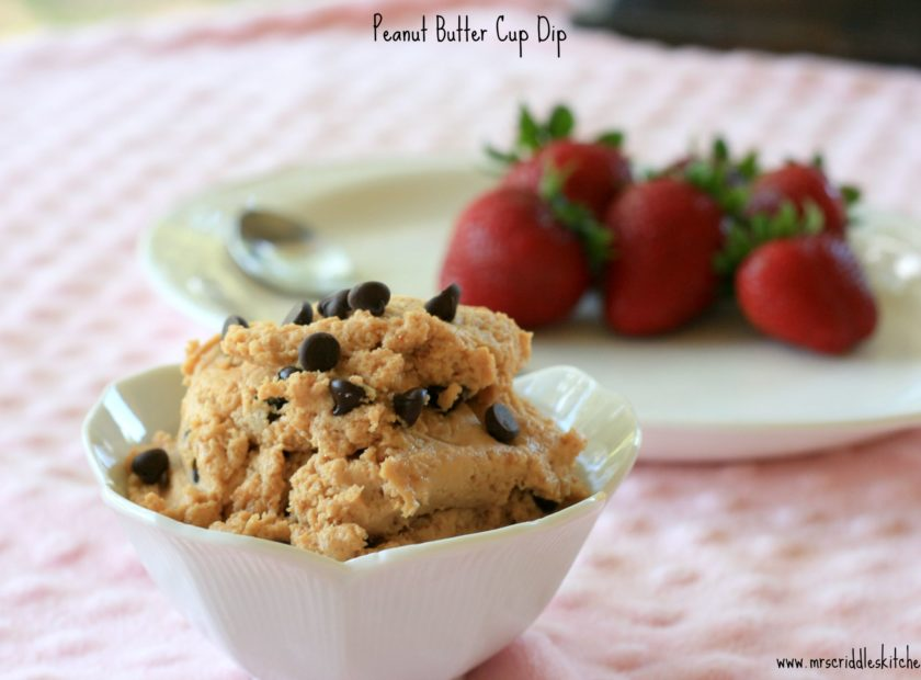 A peanut butter dip that you won't want to share!
