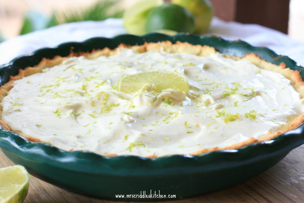 This Key Lime Pie is a simple No Bake Pie Filling that is just perfect!