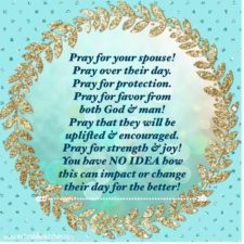 Praying for Your Spouse