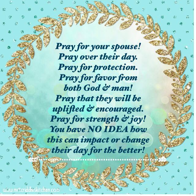 Prayer For Your Spouse
