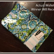 Cash Envelope Budget Wallet Giveaway
