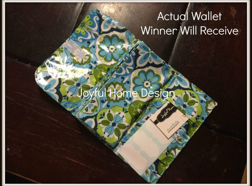 Cash Envelope Budget Wallet Giveaway