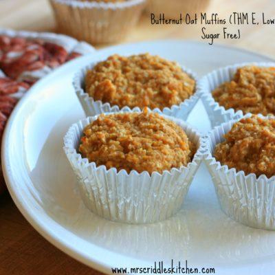 Butternut Oat Muffins