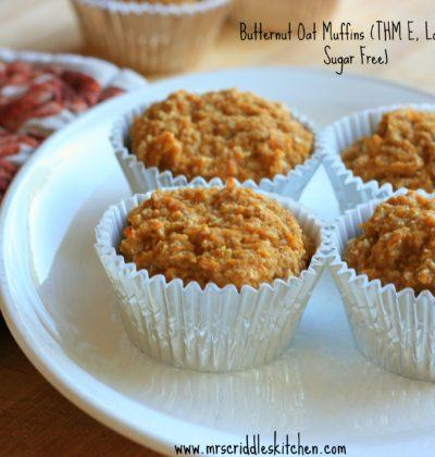 Butternut Oat Muffins- A Perfectly Yummy Fall Breakfast! (THM E)