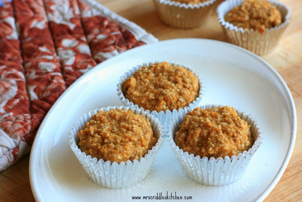 Butternut Oat Muffins- thm E.