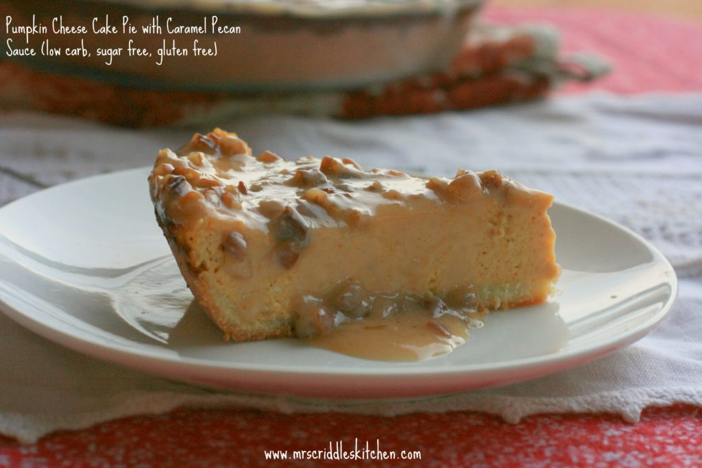 Pumpkin Cheese Cake Pie