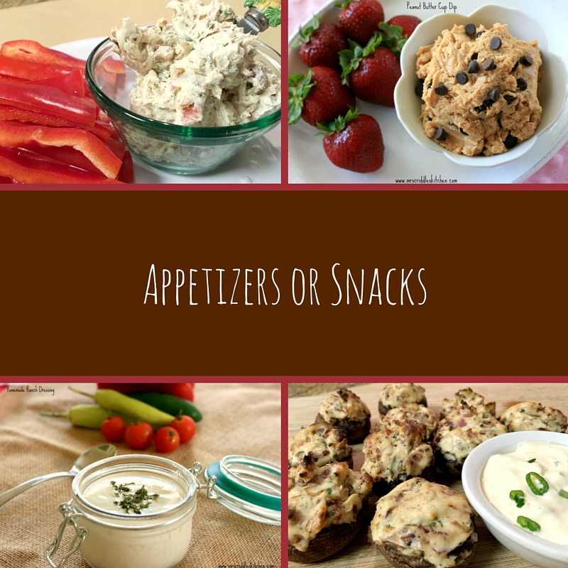 Appetizers or Snacks