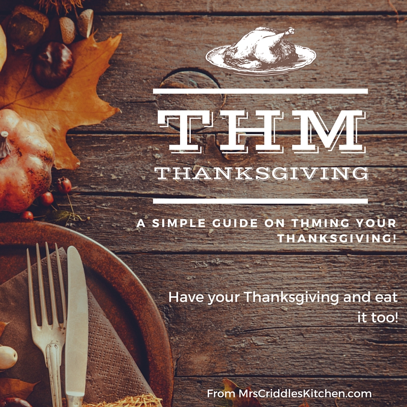 THMing Your Thanksgiving