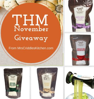 THM Products Giveaway