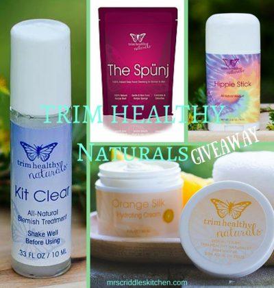 Trim Healthy Naturals Giveaway