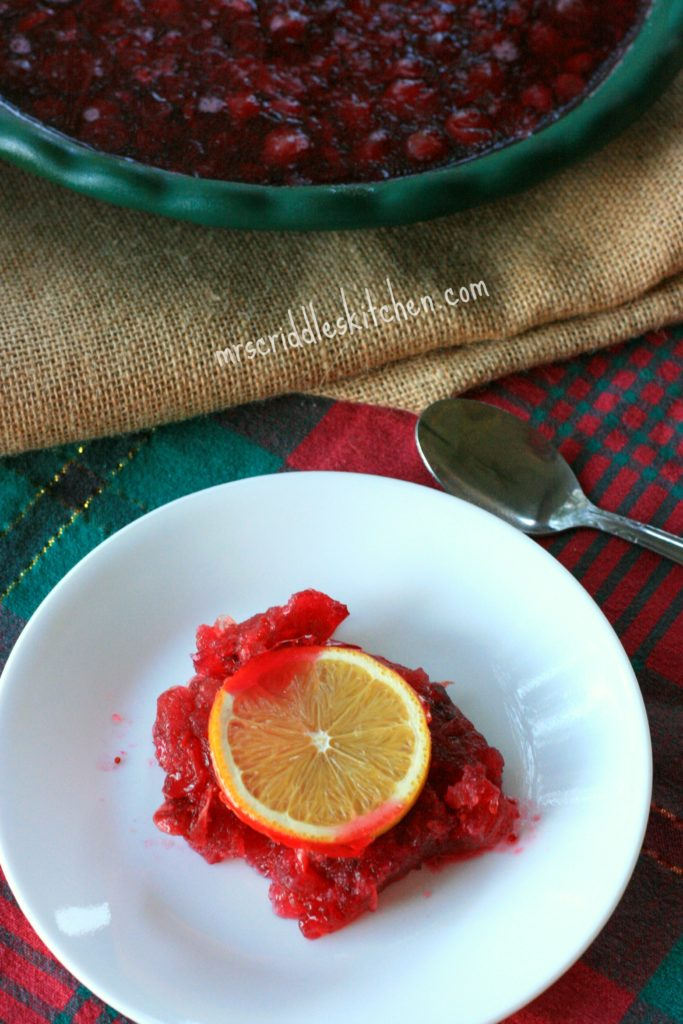 A yummy Cranberry Sauce that is SUGAR FREE!