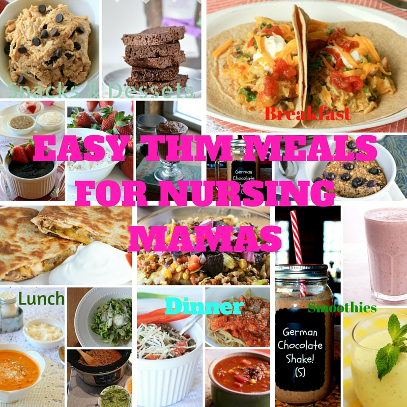 6 Tips For A Kitchen You Can Love For A Lifetime: Easy THM Meals For Nursing Mamas