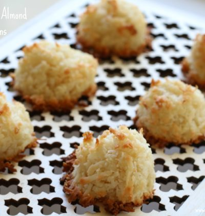 Easy Coconut Almond Macaroons
