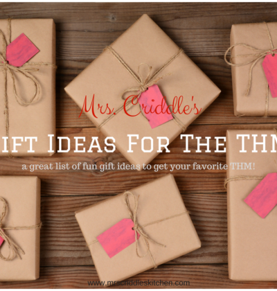 Gift Ideas for the THM