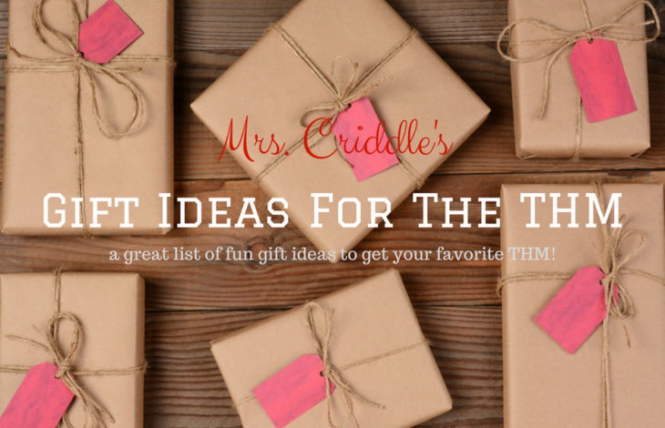 Gifts Ideas for the THM!